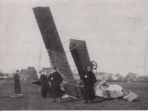 De vliegtuigcrash van 14.02.1913 aan de Parkpoort
