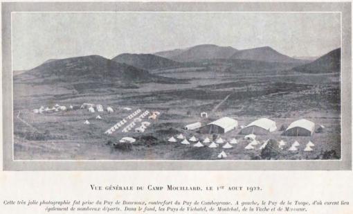 Frankrijk: de Association Française Aérienne (AFA) organiseert in augustus 1922 haar eerste Congrès Expérimental d'Aviation Sans Moteur in Combegrasse, nabij Clermont-Ferrand, met als doel het zweefvliegonderzoek te coördineren. Deze eerste bijeenkomsten hadden helemaal de allure van een kamp: de toestellen werden 's nachts gestald in tenten, en na de meeting werd alles opgeruimd en terug mee genomen.