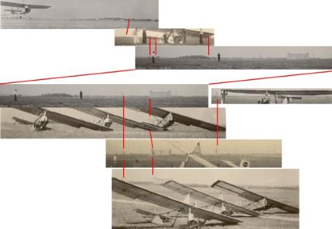 Militair oefenterrein in Heverlee in de jaren '40 - foto's richting NNO