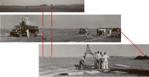 Militair oefenterrein in Heverlee in de jaren '40 - foto's richting ZO